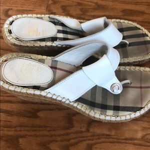 Burberry Wedges (Size 40)